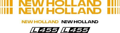 New Holland L455 Skid Steer L 455 Replacement Decal Sticker Kit Made In Usa