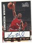 Autograph Lorenzen Wright Basketball Trading Cards