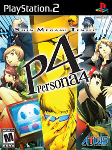 Persona 4 (PS2) with Art Book