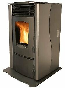 Enviro Omega pellet stove and pipe/vent