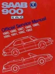 Saab 900 16 Valve 1985 - 1993 Owners Service & Repair Manual Hazelbrook Blue Mountains Preview