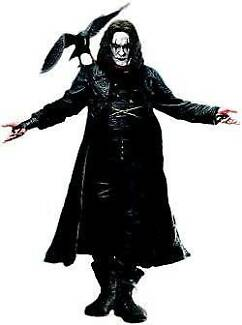 The Crow 18 inch figure; Perfect condition in box by NECA W\Sound