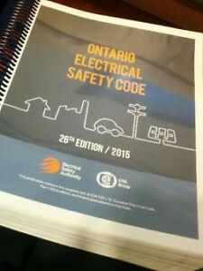 Looking for a 2015 Ontario Electrical Safety Code Book! Kingston Kingston Area image 1