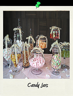 Low Cost Apothecary Candy Buffet Dessert Table Glass Jars for Rent in Singapore