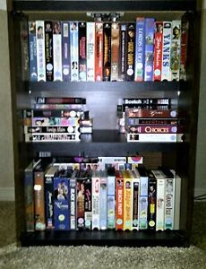 95+ VHS Tapes for sale  (includes Cabinet)