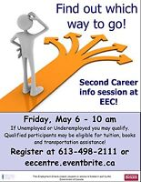 Get a First Chance at Second Career at this EEC Event May 6!