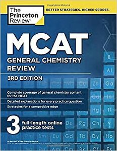 The Princeton Review - MCAT 7 Book Set, Read Description