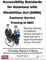 AODA Customer Service Training - NEW EEC Workshop!