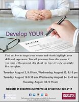 Resumes - Make yours great at EEC!
