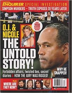 National Enquirer-O.J Simpson and Elvis Issues