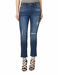 BUFFALO DAVID BITTON Cropped Straight-Leg Jeans sz 32
