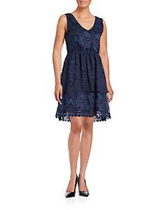 INDIGO LACE DRESS NWT SIZE XL