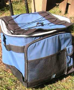 Cooling bag for camping wheeled
