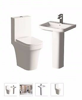 argarwood toilet and basin suite from as low £199