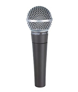 Shure SM58-CN Handheld Dynamic Microphone with Cable - Cardioid
