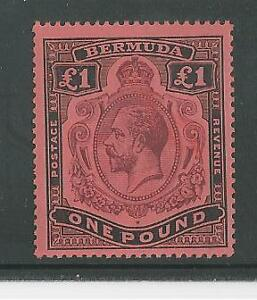 BERMUDA-54-Scott-55-S-G-Mint-Never-Hinged-KING-GEORGE-V