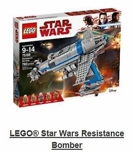 Lego Star Wars Resistance Bomber NEW