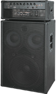 Traynor YBA 200 Bass Amp and Cabinet
