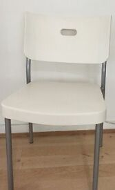 Ikea White Dinning Chairs