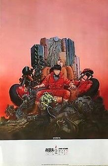 AKIRA 1982 Japan anime rare Very BIG Size Poster Limited very popular in Japan