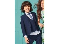 Boys Next Navy Suit - 8 years