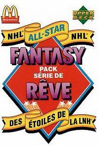 Séries mCdo de hockey début années 90 à échanger contre séries T