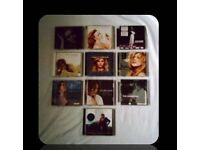 MUSIC CDS - FEMALE SINGER - (12 discs ) - FOR SALE