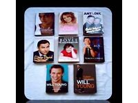 TALENT SHOW BIOGRAPHY BUNDLE - (8) - HARDCOVER - FOR SALE