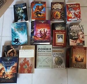 BOOKS 60-70, Gamers, fiction young adults,  adults etc