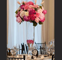 "Tall Bell Reversible Glass Vase Wedding Centerpiece 32""wholesale"