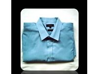 MENS FORMAL SHIRT - SIZE 18 ins COLLAR - LONG SLEEVED - FOR SALE