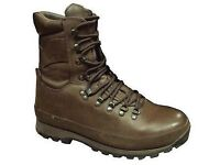 British Army Issue Altberg Defender Brown Current Issue Boot