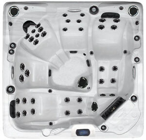 UNBEATABLE BLOWOUT PRICING ON ALL IN STOCK HOT TUBS!!!!