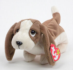 Tracker the Basset Hound Dog Ty Beanie Baby stuffed animal Kitchener / Waterloo Kitchener Area image 1
