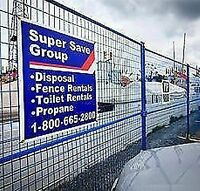 Super Save Fence Rentals- SWAMPERS WANTED! $18.00/HR