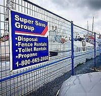 Super Save Fence Rentals- DRIVER WANTED! $18.00/HR