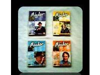 DVDS - MINDER - SERIES 4 - (4 discs) - FOR SALE