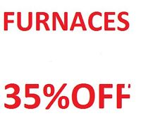 FURNACES- CENTRAL AIRS 35% OFF Phase One Heating 1988