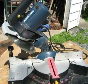 "10""COMPOUND/MITRE SAW $190 & NEW 10""TABLE SAW $140."