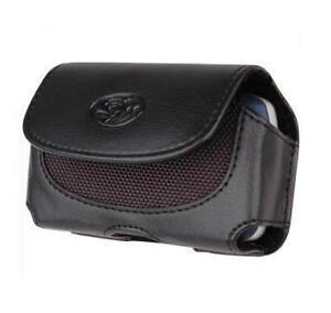 Leather Case Pouch Holster for Verizon Samsung Omnia 1 i910, Net10 S390g, R355c