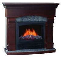 QUALITY CRAFT MM480PG-47CW ELECTRIC FIREPLACE TVCENTER.CA SALE