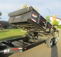 Dump Trailer Rental - Haul and Unload for you- $85 daily