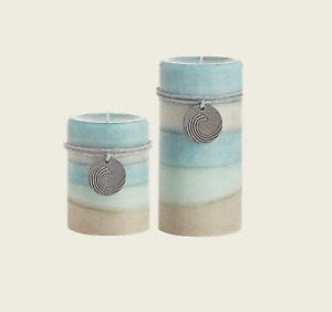 Sea Air – Layered Pillar Candles