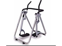 Air walker exercise machine. For keeping fit, losing weight toning carl Lewis RRP £110