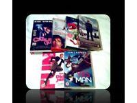 JIM CARREY FILMS - 2 DVDS & 4 VHS TAPES - FOR SALE