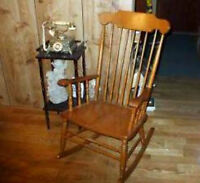 Beautifully Wooden Rocking Chair
