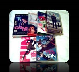 JIM CARREY FILMS - 6 TITLES - FOR SALE