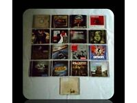 MUSIC CDS - (18 discs) - FOR SALE