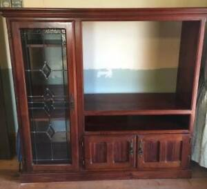 Solid Timber TV and Side Cabinet Mypolonga Murray Bridge Area Preview