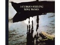 Tony Banks – A Curious Feeling CD & DVD